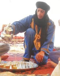 photo Ahmad au thé