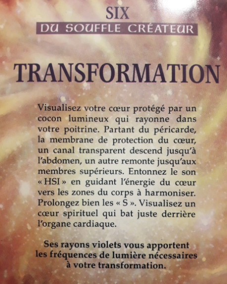 Tarot de la voix transformation photo