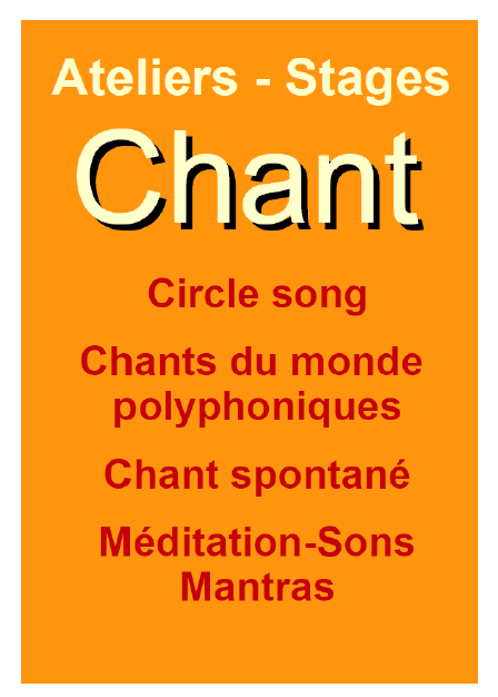 chant marges